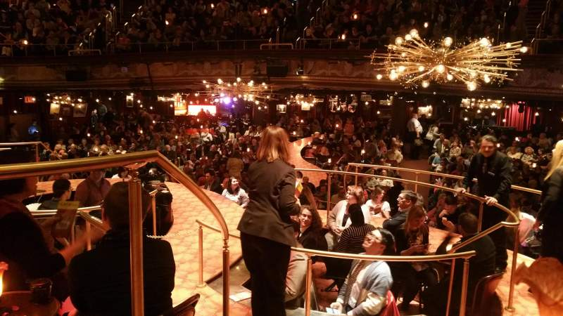 Seating view for Imperial Theatre Section Onstage Banquettes Row BA Seat 11