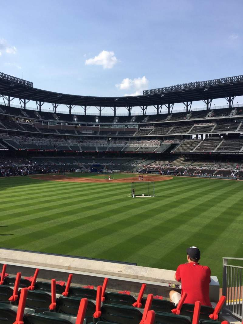 Seating view for Truist Park Section 152 Row 12 Seat 6
