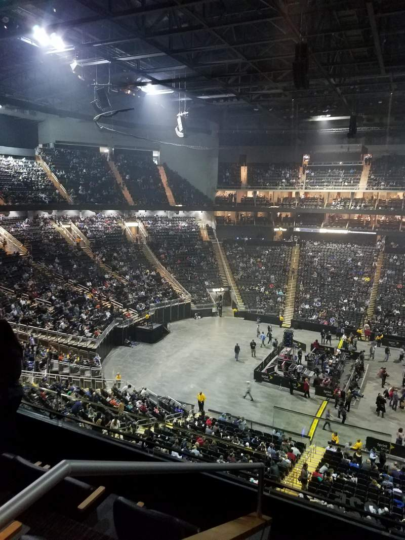 Seating view for Sprint Center Section Suite B-28