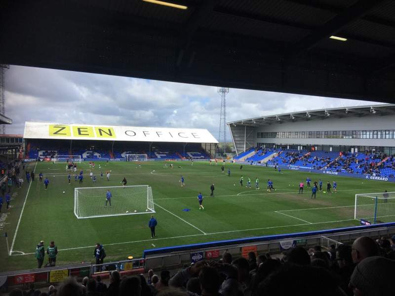 Seating view for Boundary ParkRow X Seat 145
