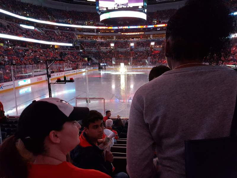 Seating view for Verizon Center Section 106 Row K Seat 6