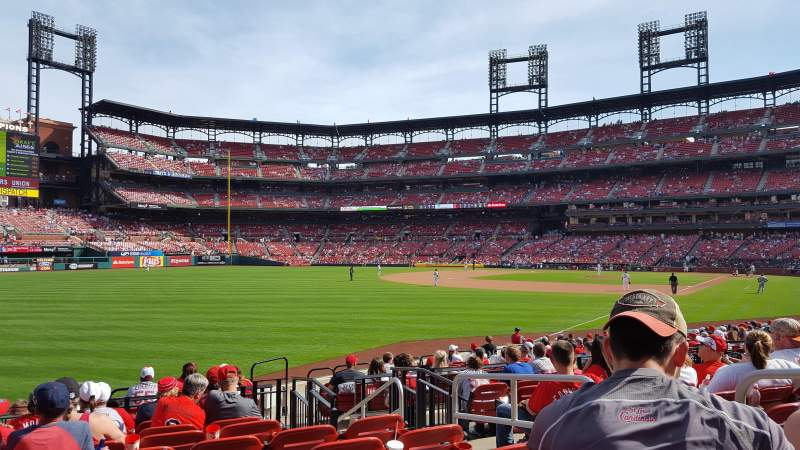 Busch Stadium, section: 167, row: 9, seat: 5