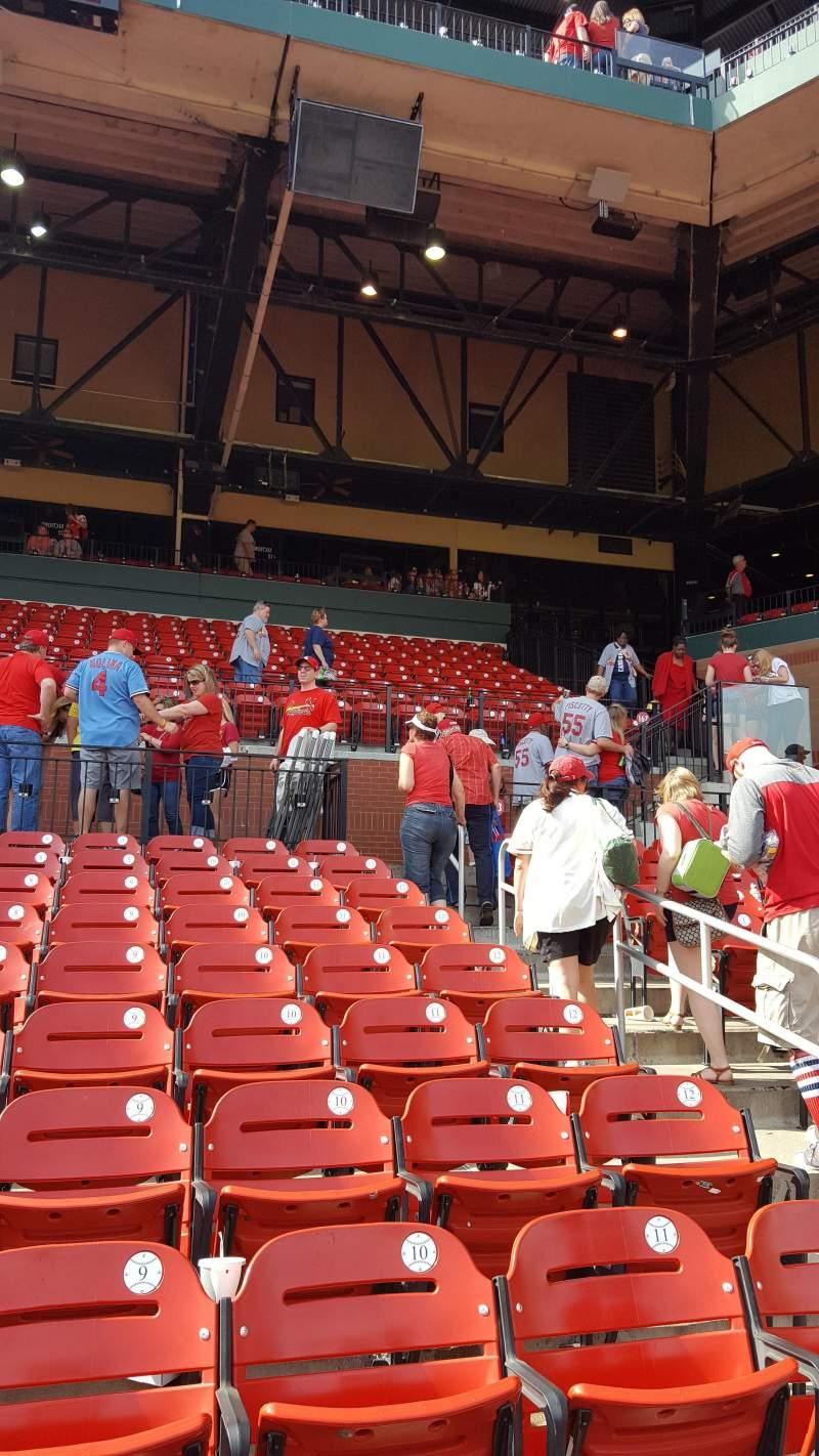 Busch Stadium, section: 167, row: 9, seat: 7
