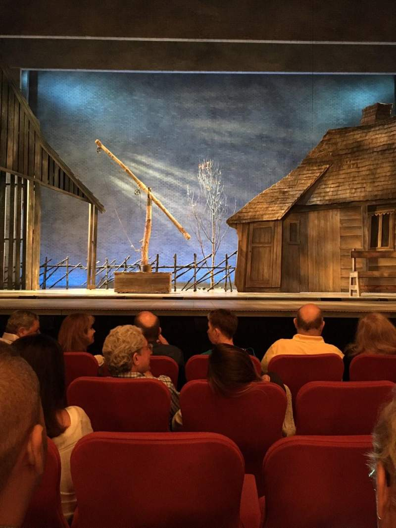 Seating view for Broadway Theatre - 53rd Street Section Orchestra C Row G Seat 108