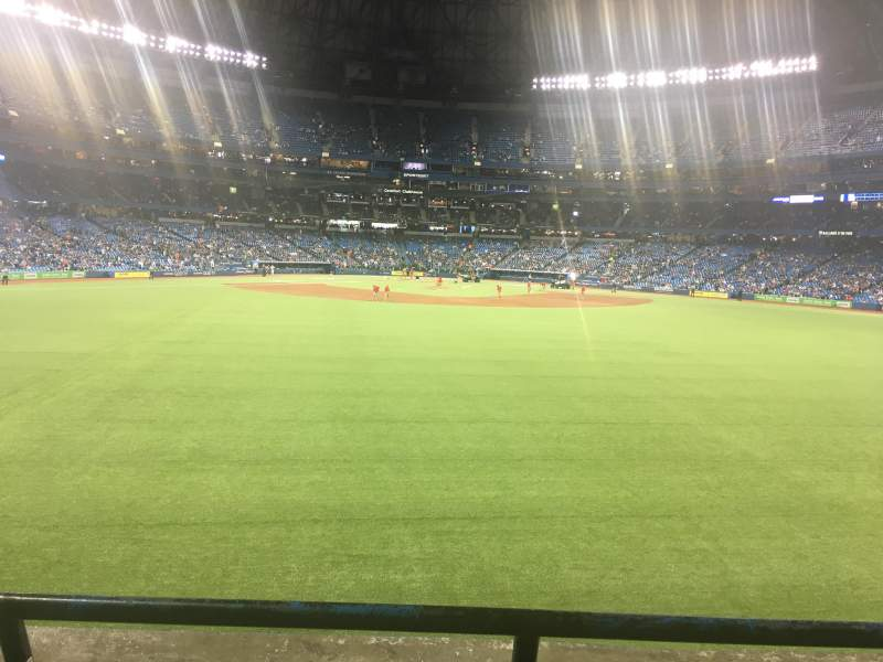 Seating view for Rogers Centre Section 101L Row 2 Seat 108