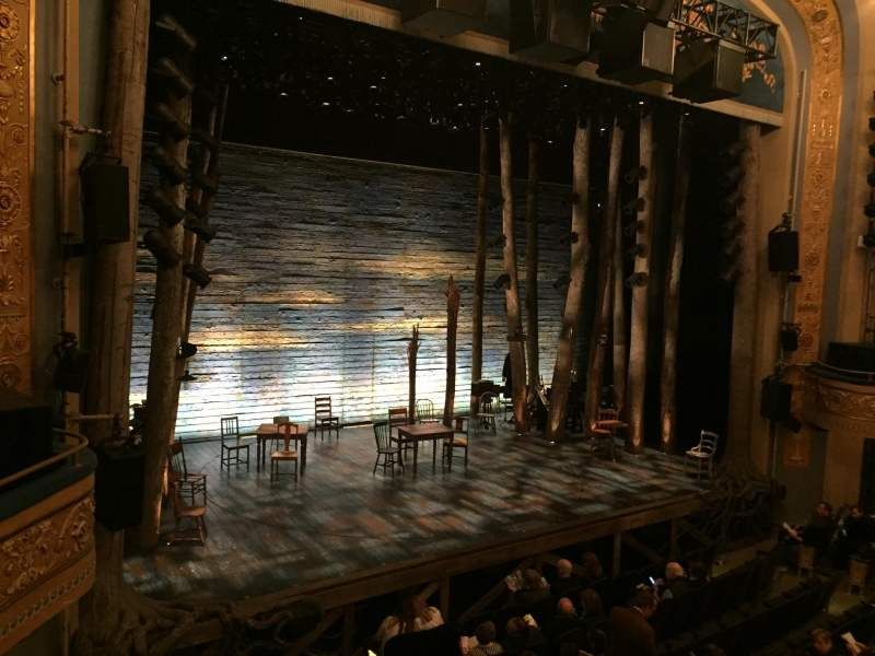 Seating view for Gerald Schoenfeld Theatre Section Mezzanine L Row A Seat 13