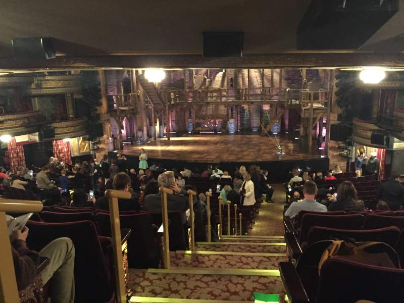 Seating view for Richard Rodgers Theatre Section Orchestra R Row V Seat 2