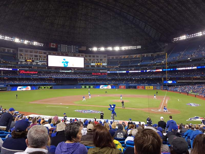 Seating view for Rogers Centre Section 124L Row 28 Seat 103