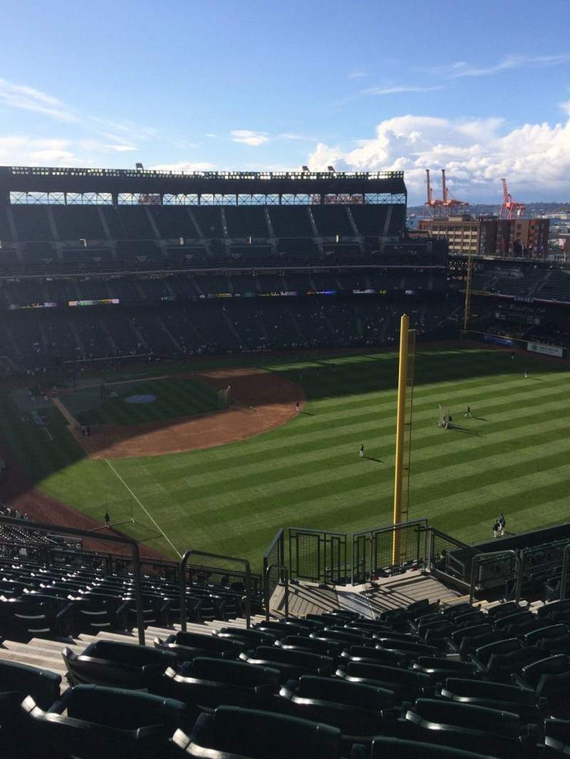 Seating view for T-Mobile Park Section 311 Row 15 Seat 13