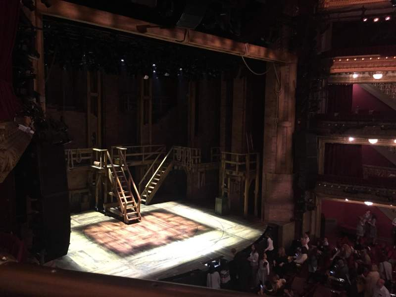 Seating view for CIBC Theatre Section Mezzanine L Row A Seat 17