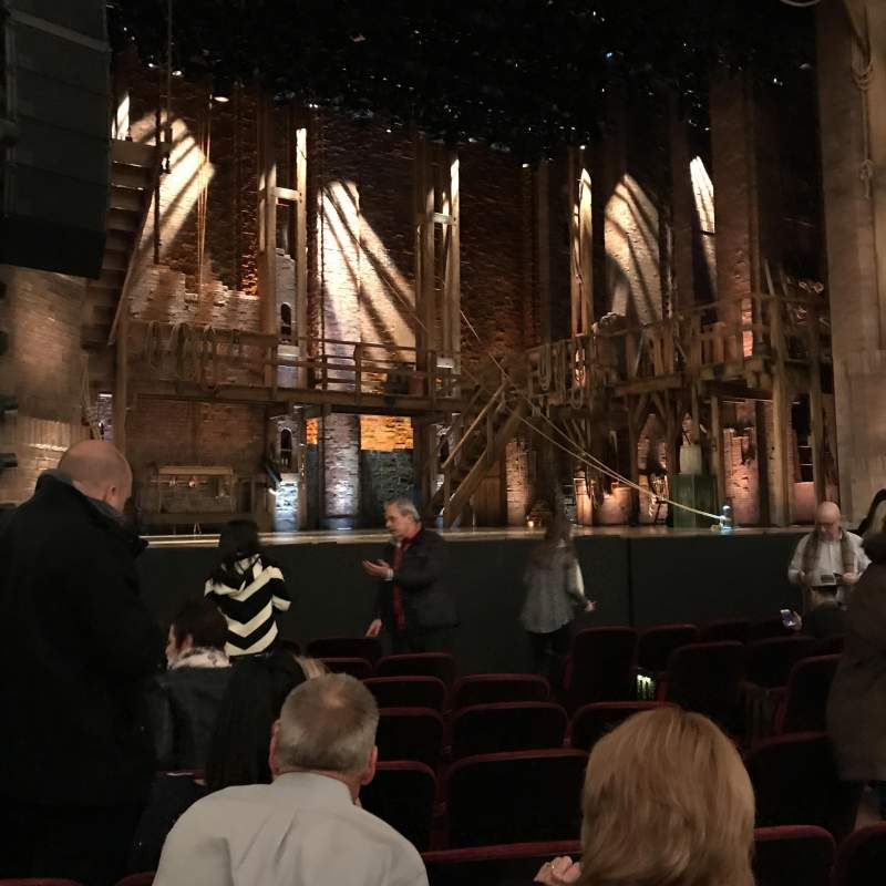 Seating view for CIBC Theatre Section Orchestra L Row K Seat 13