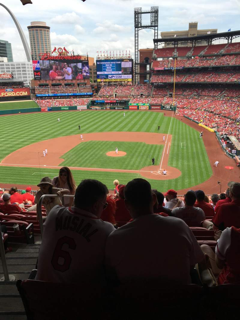 Seating view for Busch Stadium Section 253 Row 13 Seat 17