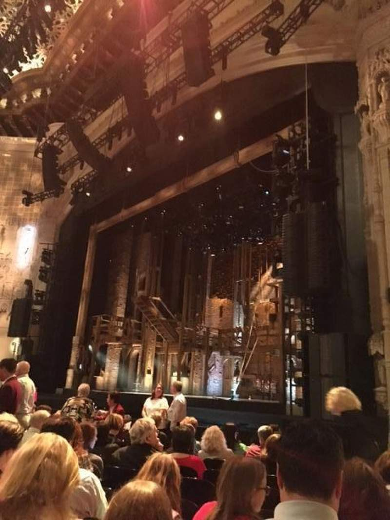 Seating view for Orpheum Theatre (San Francisco) Section Orchestra R Row M Seat 20