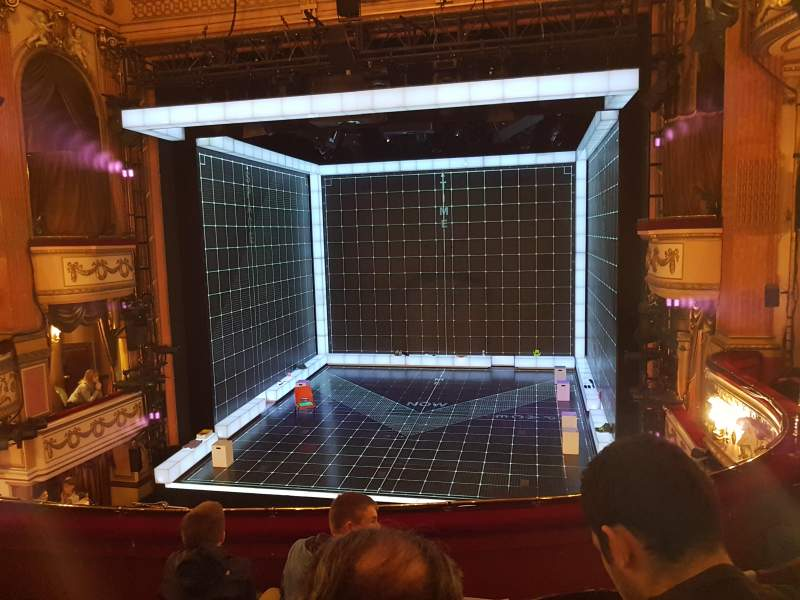 Seating view for Gielgud Theatre Section Dress Circle Row D Seat 11