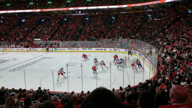 Seating view for Centre Bell Section 110 Row G Seat 12