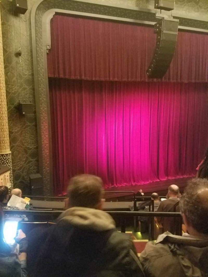 Seating view for Mainstage at the New York City Center Section Mezz Row A Seat 5