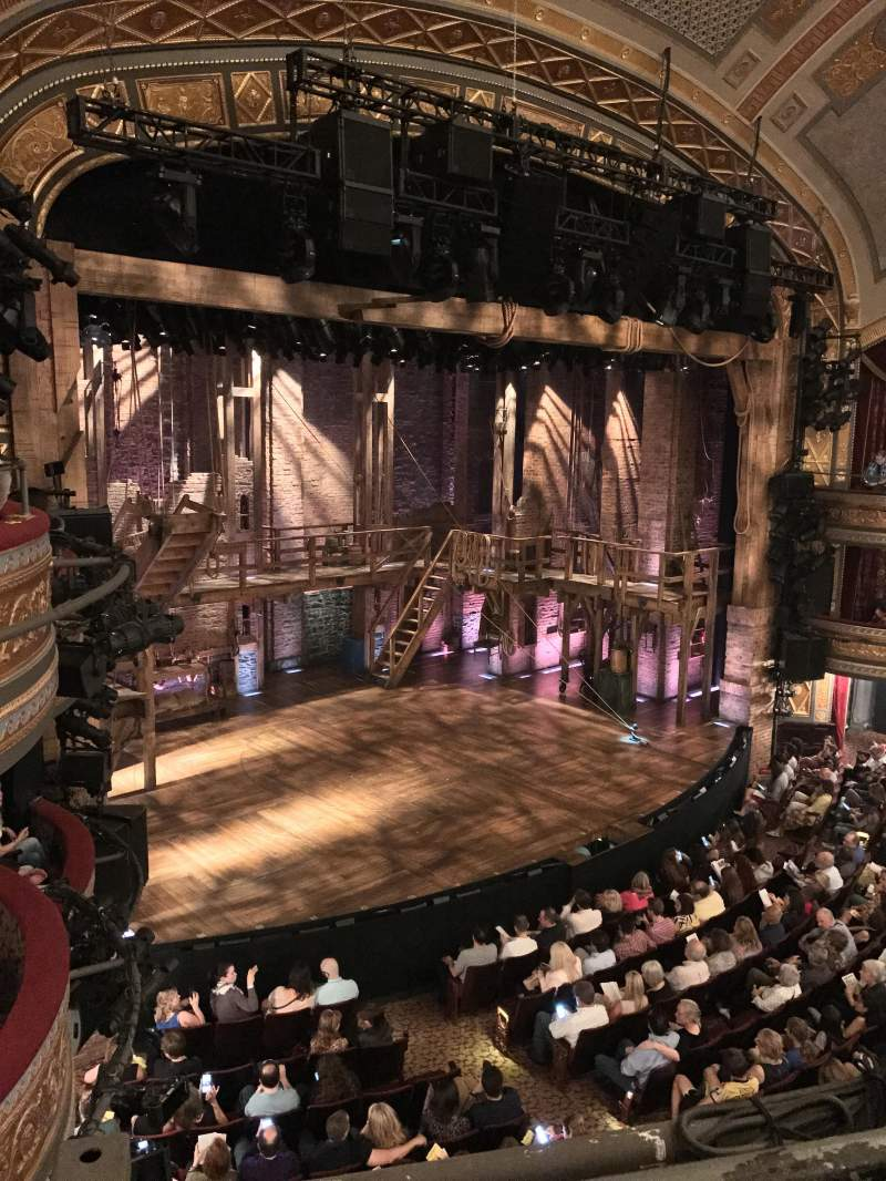 Seating view for Richard Rodgers Theatre Section Front Mezzanine L Row A Seat 25