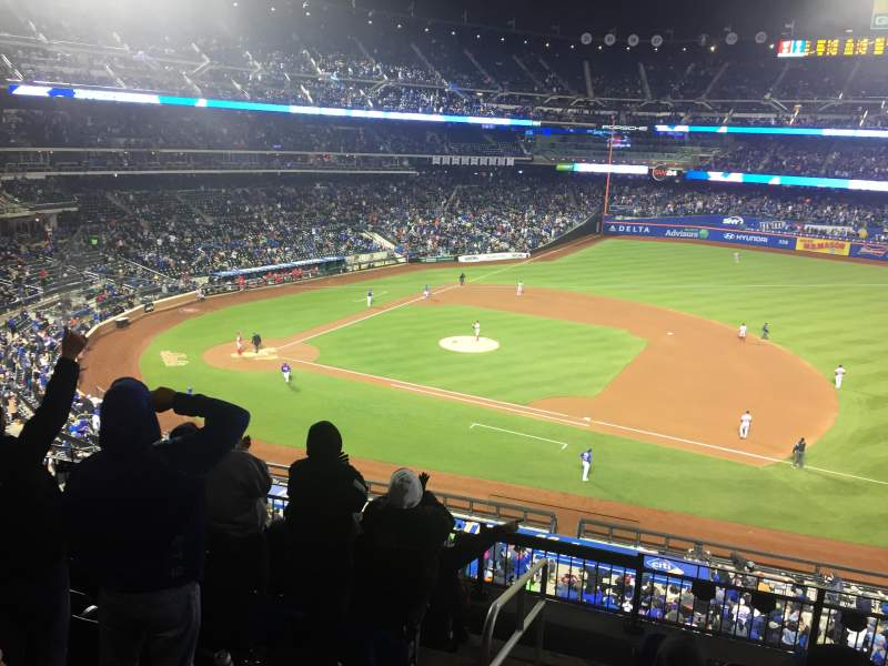 Seating view for Citi Field Section 310 Row 7 Seat 1