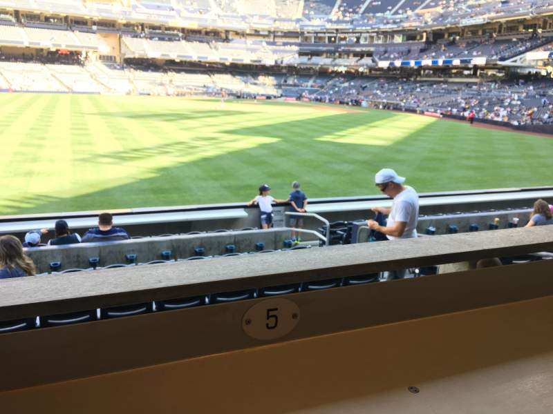 Seating view for PETCO Park Section 132 Row 8 Seat 5