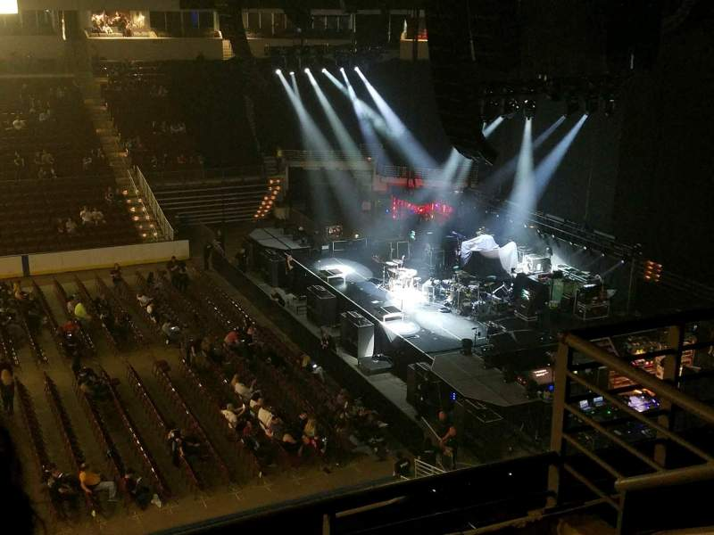 Verizon Arena, section: 304, row: 3, seat: 18