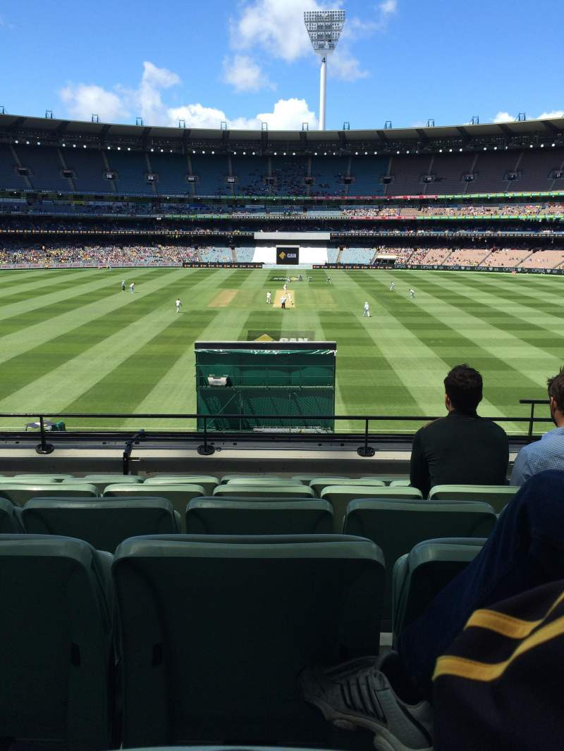 Seating view for Melbourne Cricket Ground Section N47