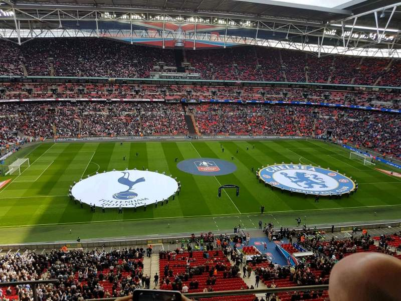 Seating view for Wembley Stadium Section 502 Row 4 Seat 482