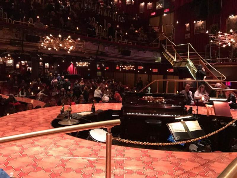 Seating view for Imperial Theatre Section TN Row Premium Table Seat 2,3