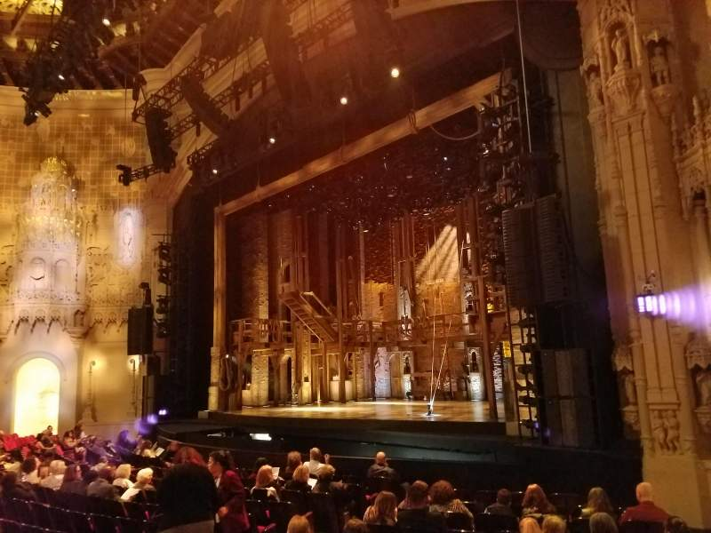 Seating view for Orpheum Theatre (San Francisco) Section Orchestra R Row O Seat 18