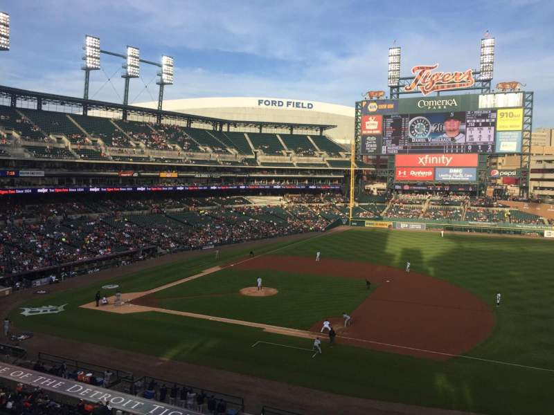 Seating view for Comerica Park Section 219 Row A Seat 5