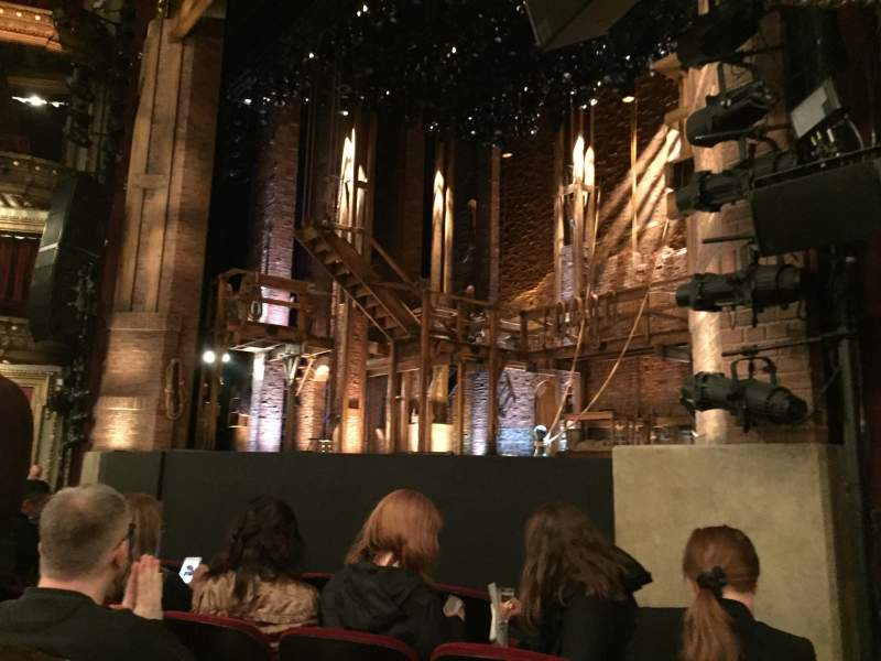 Seating view for CIBC Theatre Section Orchestra R Row F Seat 20