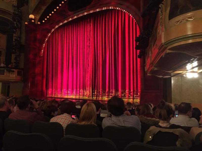 Seating view for Shubert Theatre Section Orchestra R Row M Seat 22