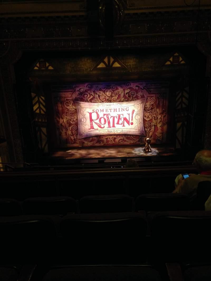 Hippodrome Theatre, section: Center Mezzanine, row: G, seat: 309