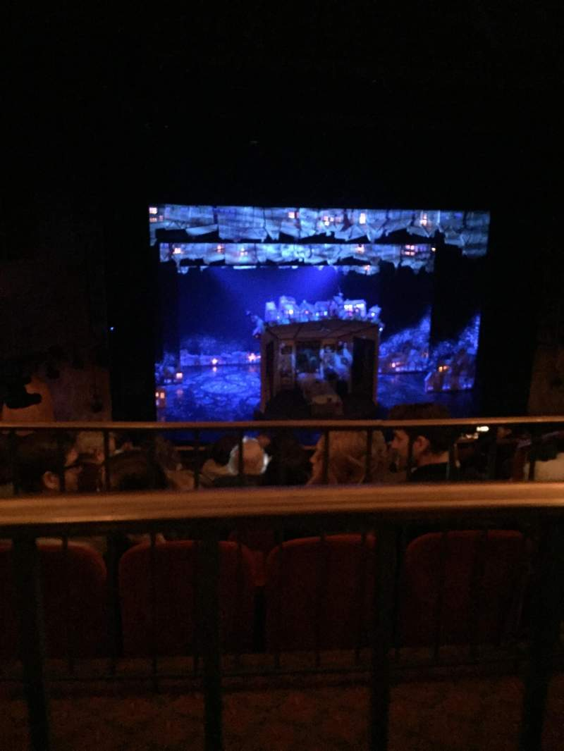 Seating view for August Wilson Theatre Section Mezzanine L Row H Seat 7