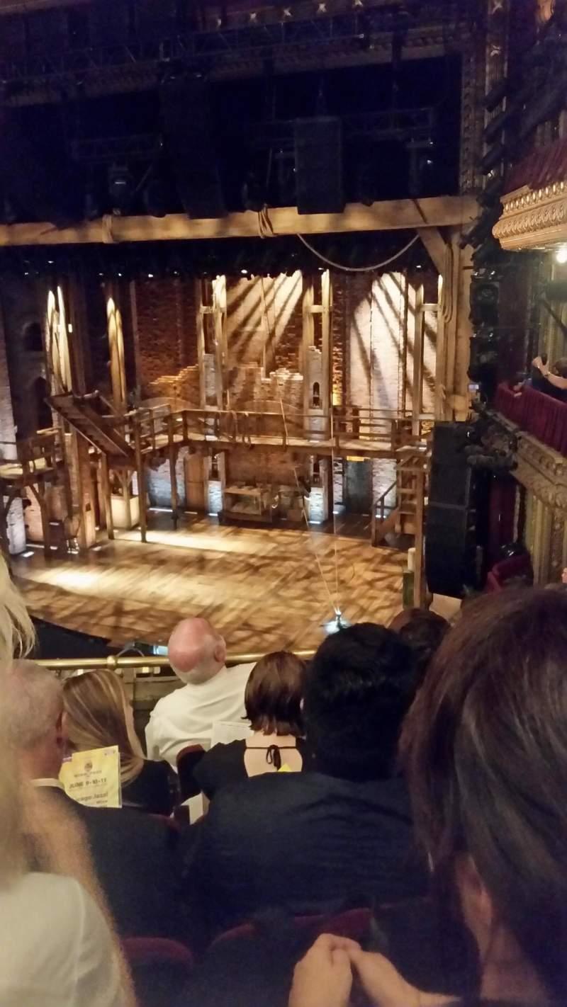 Seating view for CIBC Theatre Section Mezzanine R Row E Seat 12