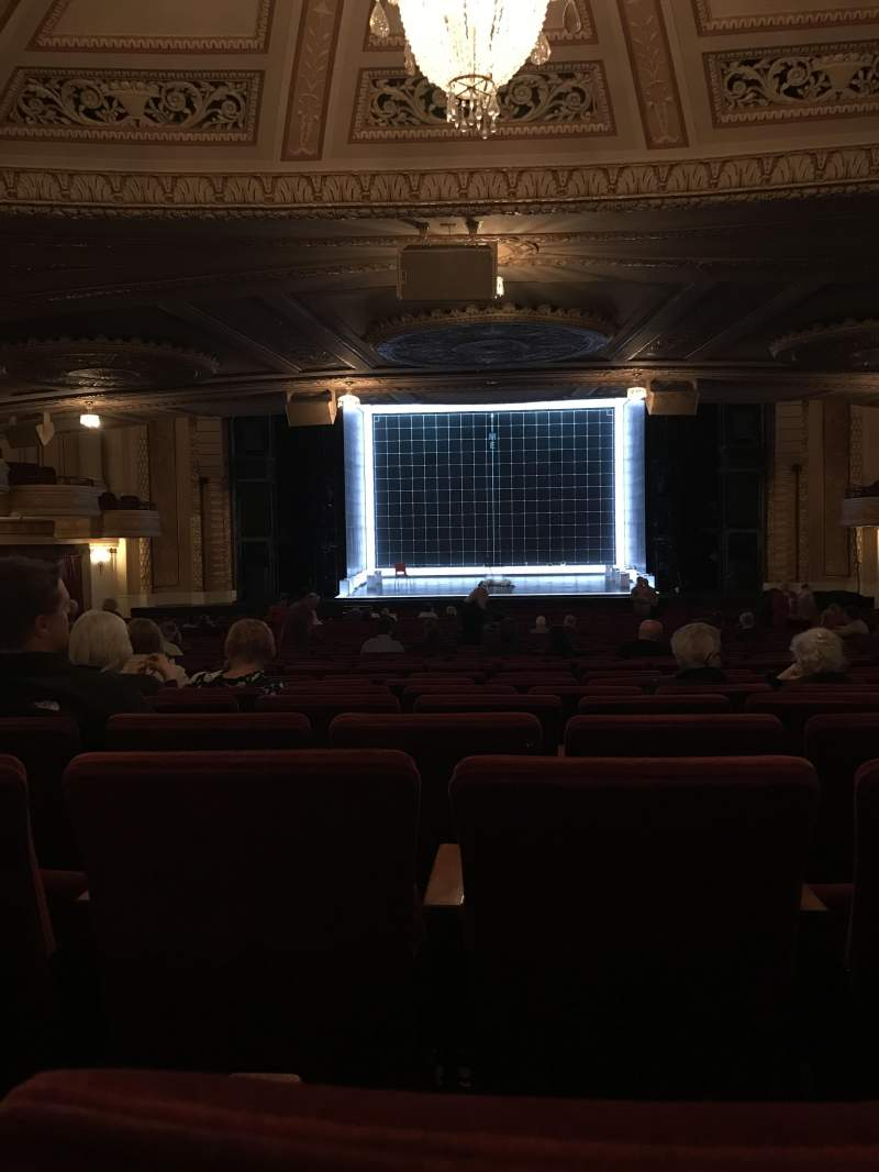 Seating view for Connor Palace Section Orchestra C Row LL Seat 310