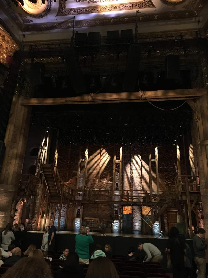 Seating view for PrivateBank Theatre Section Orchestra C Row P Seat 111