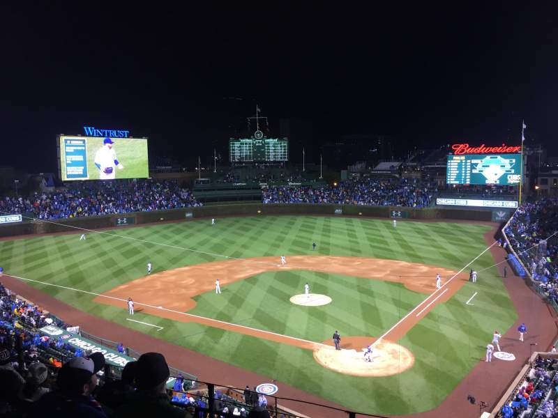 Seating view for Wrigley Field Section 315L Row 6 Seat 7