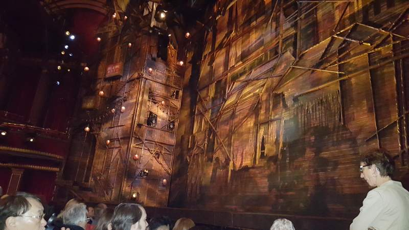 Seating view for broadway theatre - 53rd street Section Orchestra R Row D Seat 1