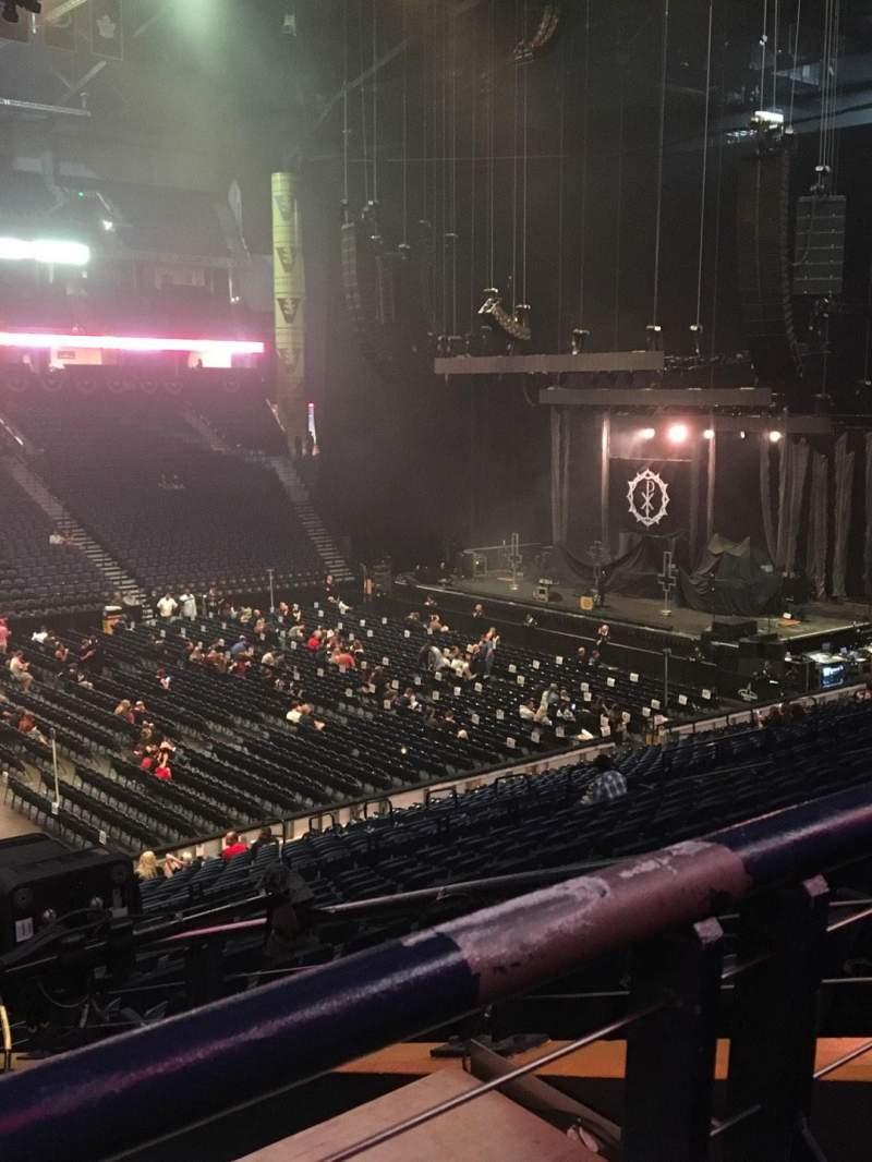 Bridgestone Arena, section: 105, row: P, seat: 22