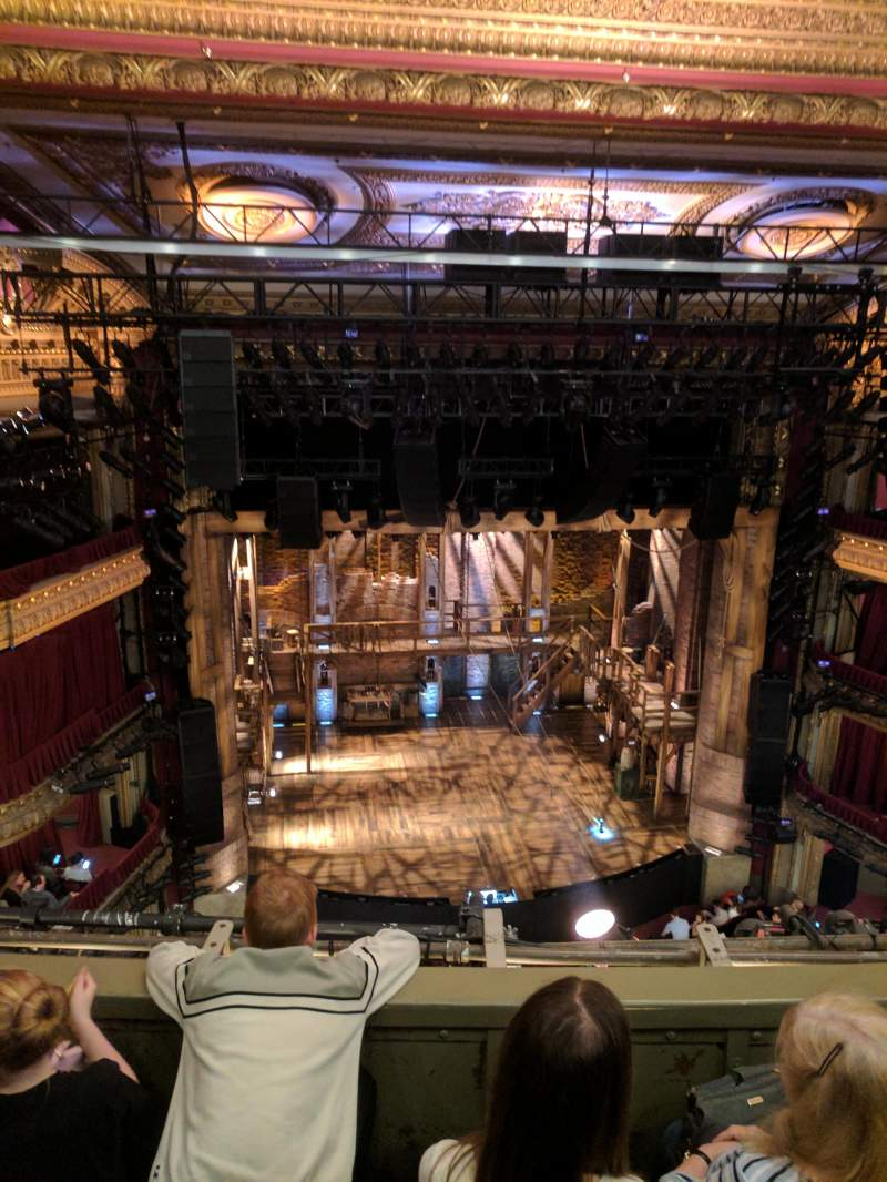 Seating view for CIBC Theatre Section Balcony LC Row C  Seat 413