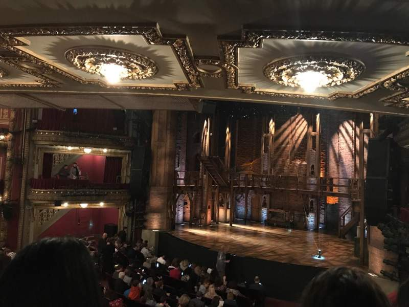 Seating view for PrivateBank Theatre Section Dress Circle R Row B Seat 4