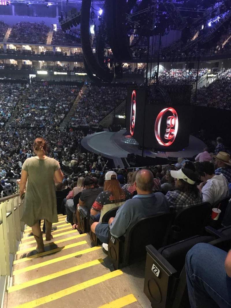Sprint Center, section: 115, row: 24, seat: 23