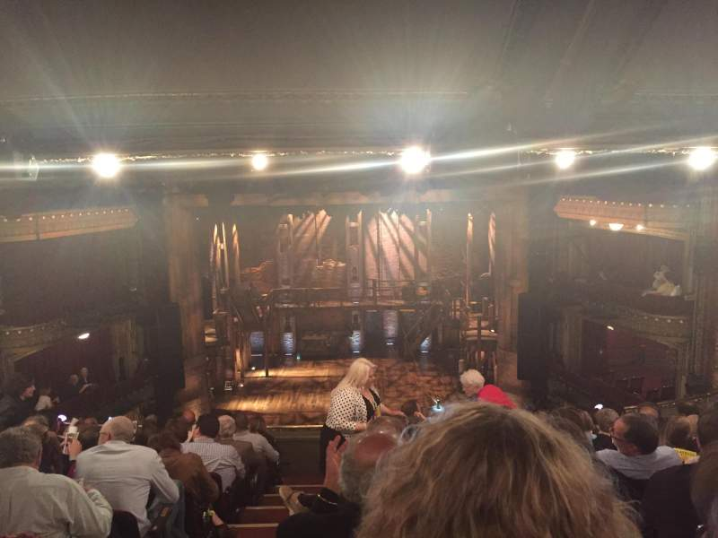 Seating view for PrivateBank Theatre Section Mezzanine RC Row K Seat 302