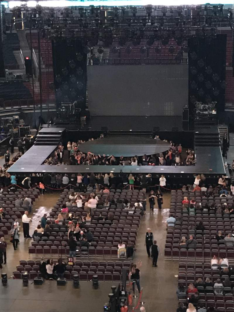 Seating view for Value City Arena Section 330 Row A Seat 12
