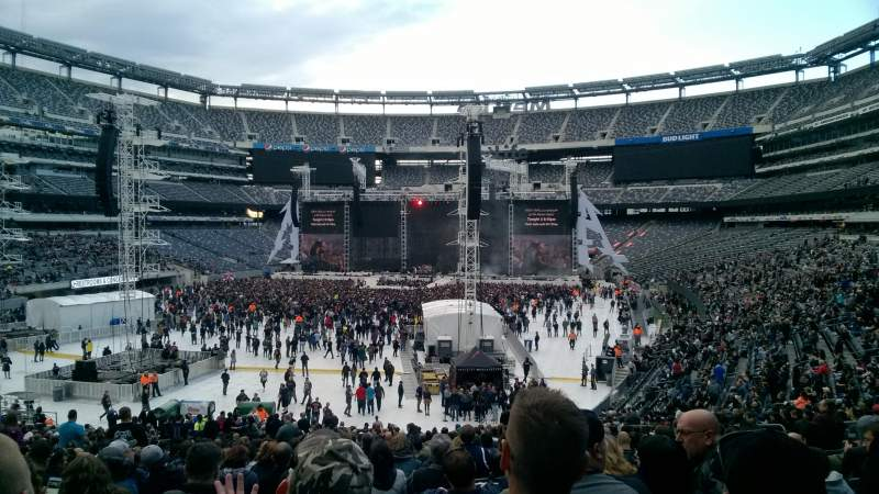 Seating view for MetLife Stadium Section 126 Row 36 Seat 18