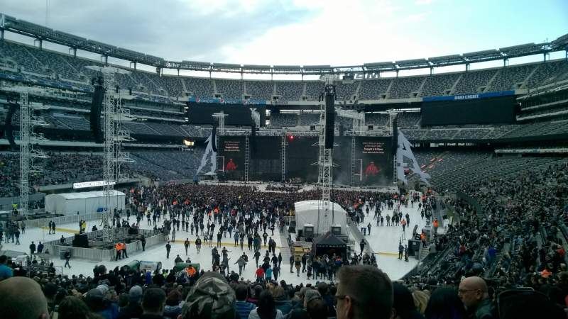 Metlife Stadium Section 123 Home Of New York Jets New