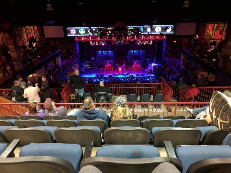 Seating view for House Of Blues - Boston Section Stadium Row E Seat 312