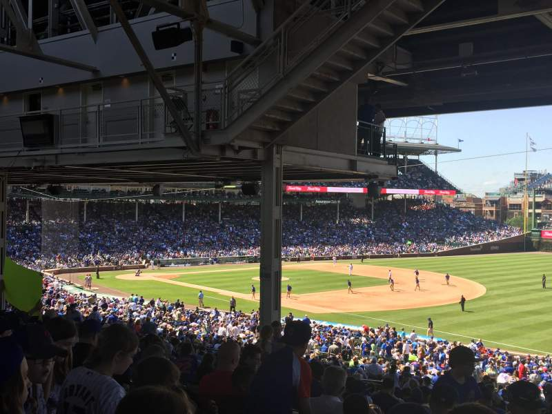 Seating view for Wrigley Field Section 237 Row 21 Seat 110