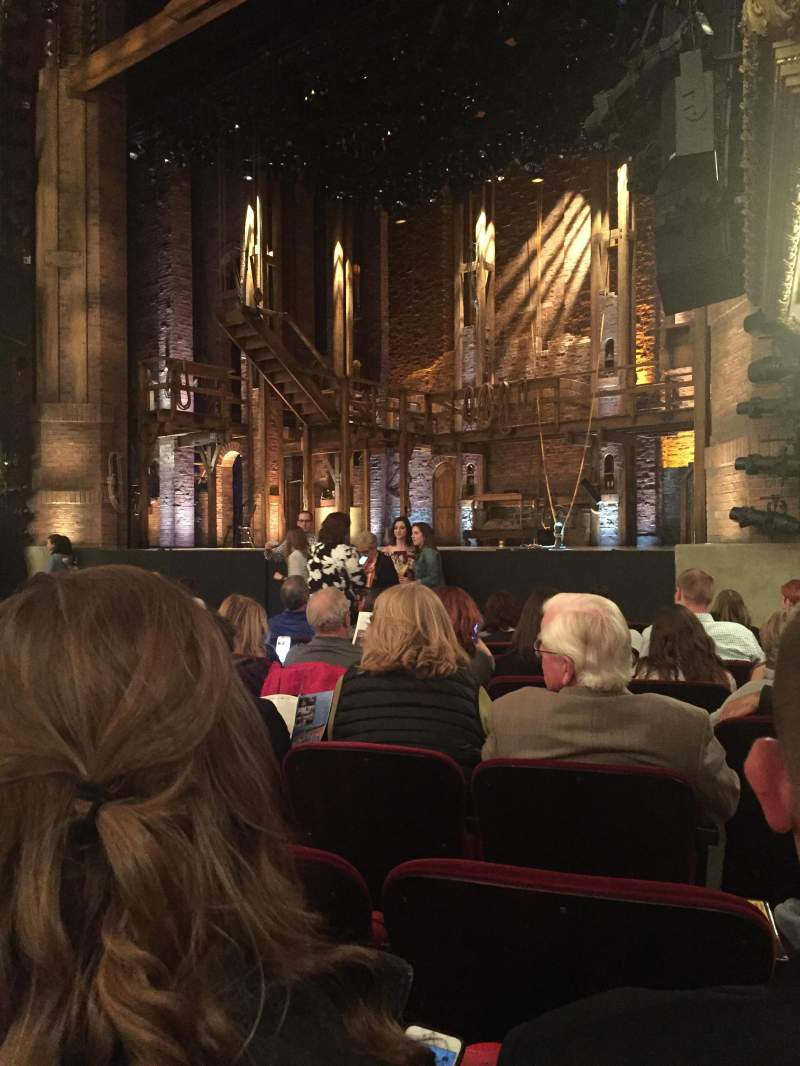 Seating view for CIBC Theatre Section Orchestra r Row L Seat 20