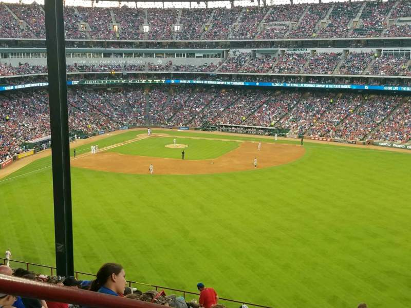 Globe Life Park in Arlington, section: 252, row: 22, seat: 1